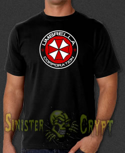 Umbrella Corp. Resident Evil Video Game t-shirt