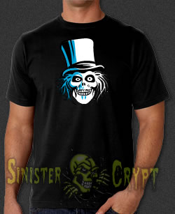 Hatbox Ghost Haunted Mansion t-shirt