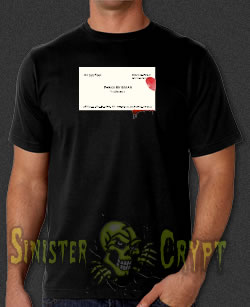 American Psycho Business Card t-shirt