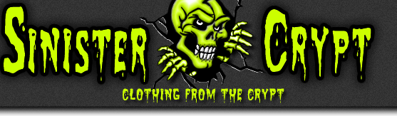 Sinister Crypt -  Clothing T-Shirts