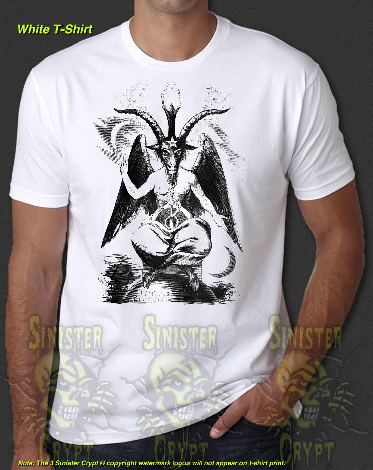Details about  /Baphomet Eliphas Knights Templar Devil Occult Satan New T-Shirt S-6XL