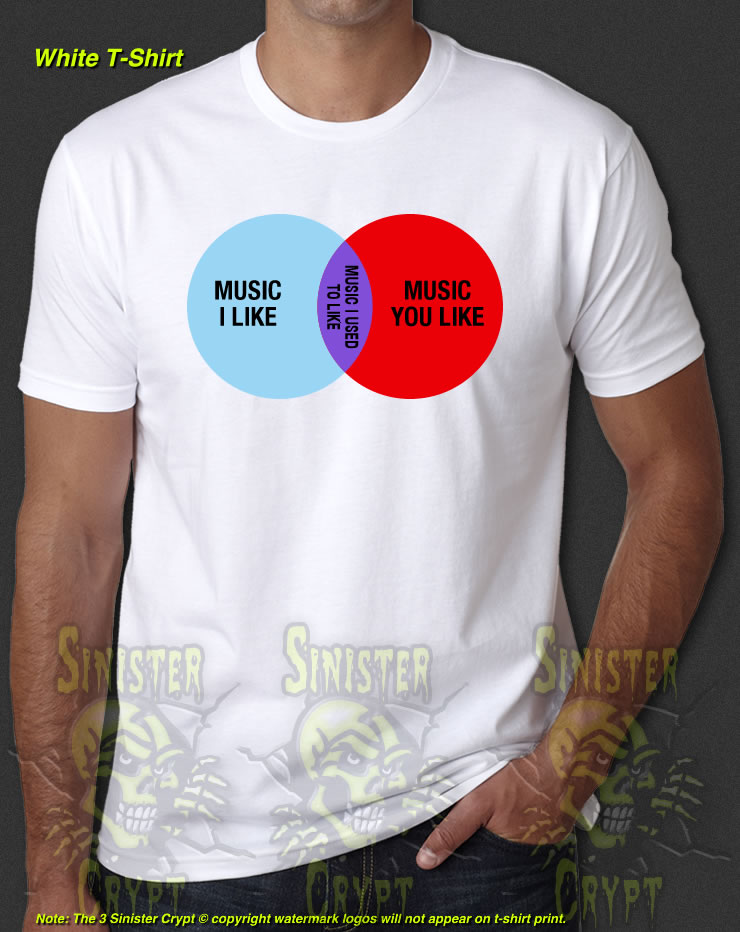 The It Crowd Music I Like Roy Moss Jen Venn Diagram New T Shirt S