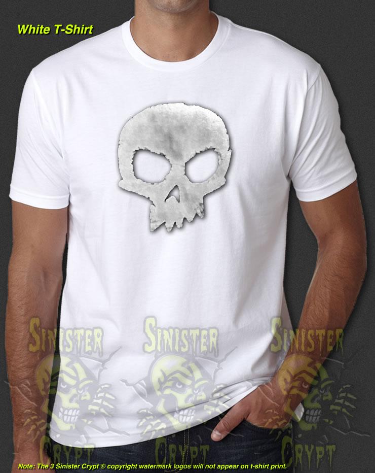 409dd5a67b960e Sid Skull Toy Story Pixar Disney Detailed Reproduction Halloween New White T -Shirt S-