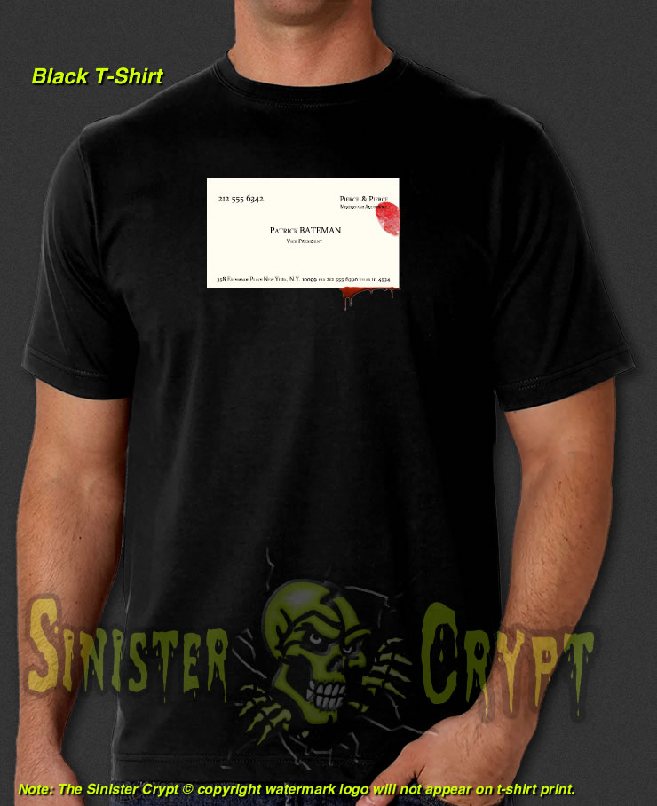 American psycho business card t shirt sinistercrypt sinister american psycho business card black t shirt colourmoves