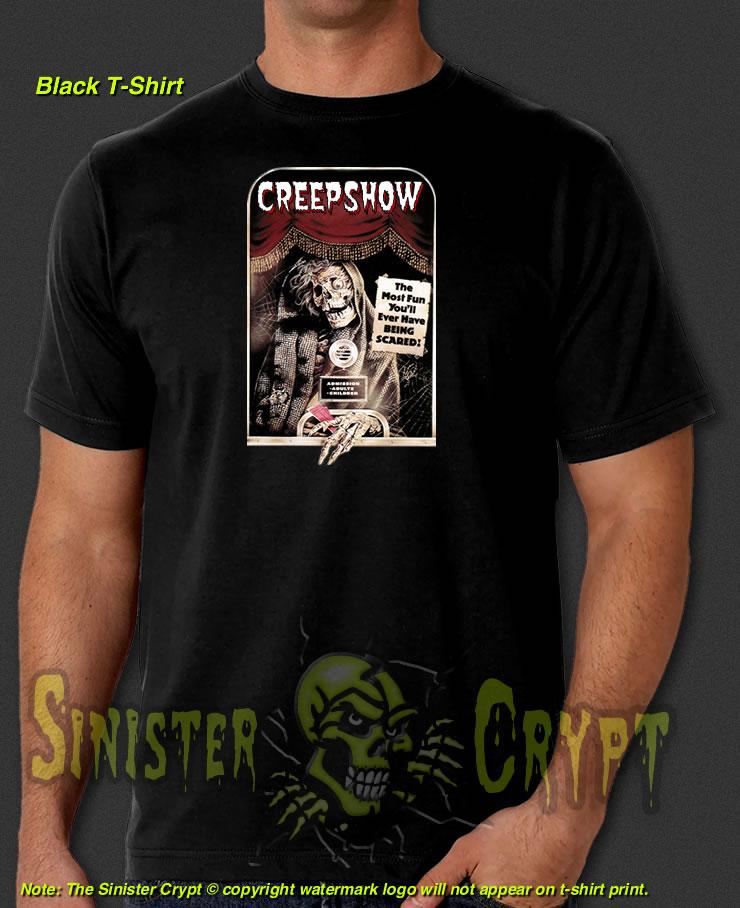 7ed8f2148da Creepshow Ticket Taker t-shirt, SinisterCrypt.com, Sinister Crypt t ...